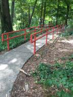 Mid Century Park Railing