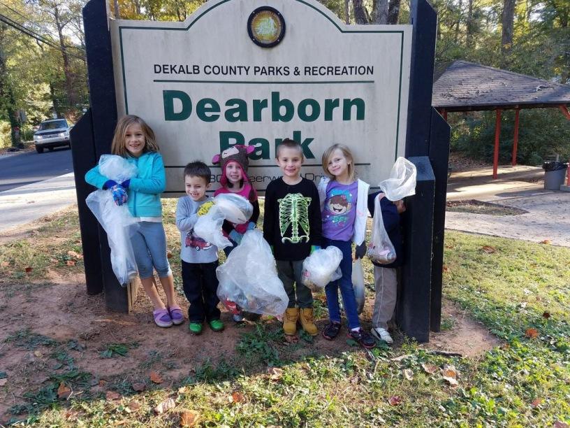 Halloween Dearborn Park style